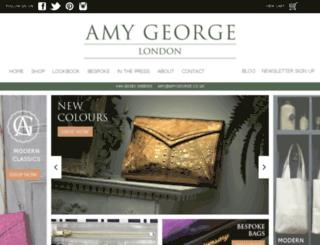 amygeorge.co.uk screenshot