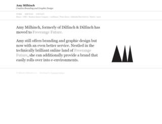 amymilhinch.com screenshot