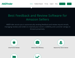 amzfinder.com screenshot
