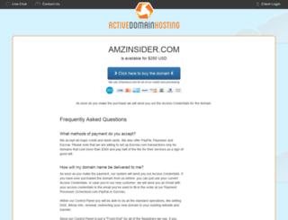 amzinsider.com screenshot