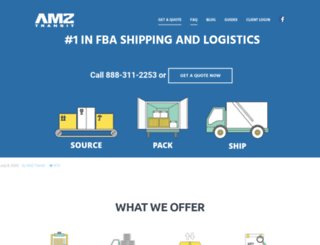 amztransit.com screenshot