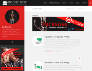 anabolic-bible.org screenshot