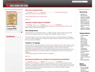 anaconda.taragana.net screenshot