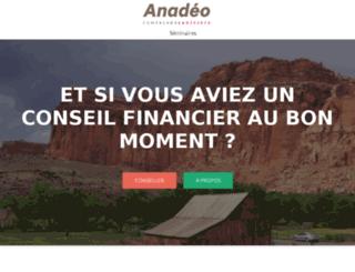 anadeo.fr screenshot