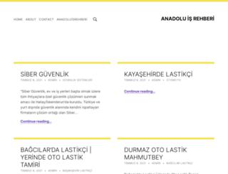 anadoluisrehberi.com screenshot