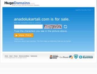 anadolukartali.com screenshot