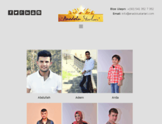 anadolustarlari.com screenshot