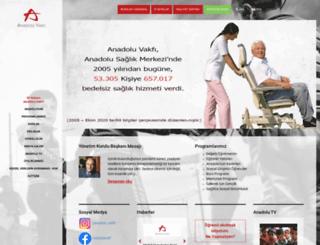 anadoluvakfi.org.tr screenshot