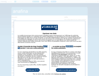 anafina.canalblog.com screenshot