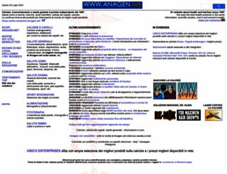 anagen.net screenshot