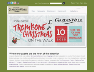 anaheimgardenwalk.com screenshot