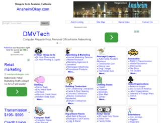 anaheimokay.com screenshot
