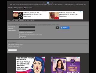 anahiworld.foromotion.net screenshot