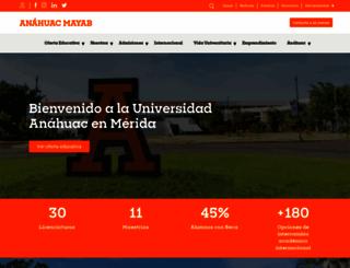 anahuacmayab.mx screenshot