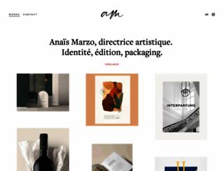 anaismarzo.com screenshot