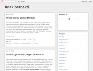 anakberbakti.blogspot.com screenshot