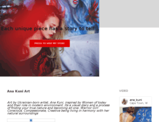 anakuniart.com screenshot