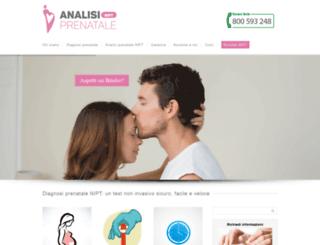 analisiprenatale.com screenshot