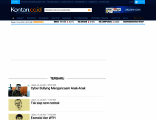 analisis.kontan.co.id screenshot