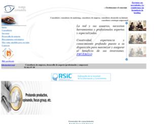 analisisyconsultoria.com screenshot