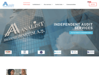 analistdenetim.com.tr screenshot