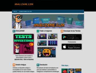 analizame.com screenshot
