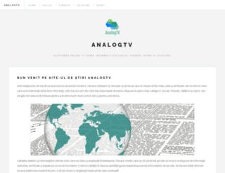 analogtv.ro screenshot
