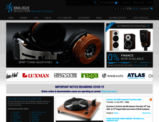 analogueseduction.net screenshot