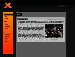 analogx.com screenshot
