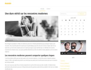 analude.fr screenshot