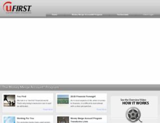analysisrequest.u1stfinancial.com screenshot