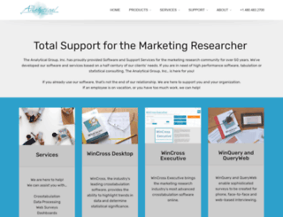 analyticalgroup.com screenshot