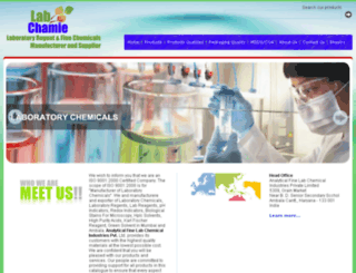 analyticallabchemicals.com screenshot