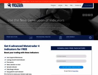analyticaltrader.com screenshot