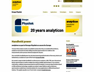 analyticon.eu screenshot