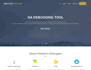 analytics-debugger.com screenshot