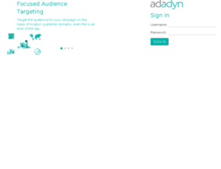 analytics.adadyn.com screenshot