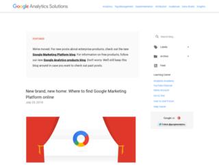 analytics.blogspot.com.es screenshot