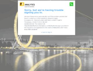 analytics.financialexpress.net screenshot