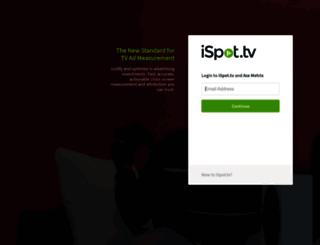 analytics.ispot.tv screenshot