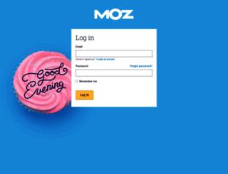 analytics.moz.com screenshot