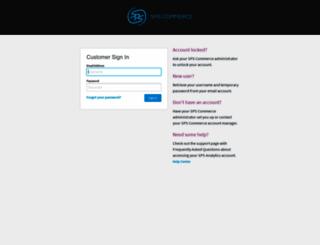 analytics.spscommerce.com screenshot