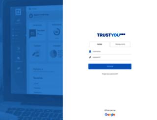 analytics.trustyou.com screenshot