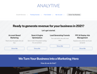 analytive.com screenshot