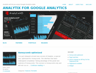 analytix.mobi screenshot