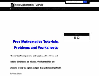 analyzemath.com screenshot
