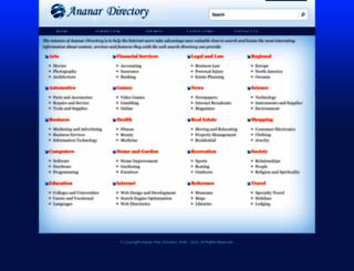 ananar.com screenshot