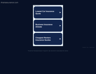 ananassurance.com screenshot