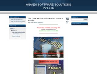 anandisoftwares.blogspot.com screenshot