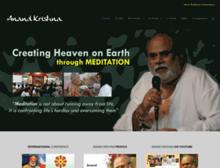anandkrishna.org screenshot